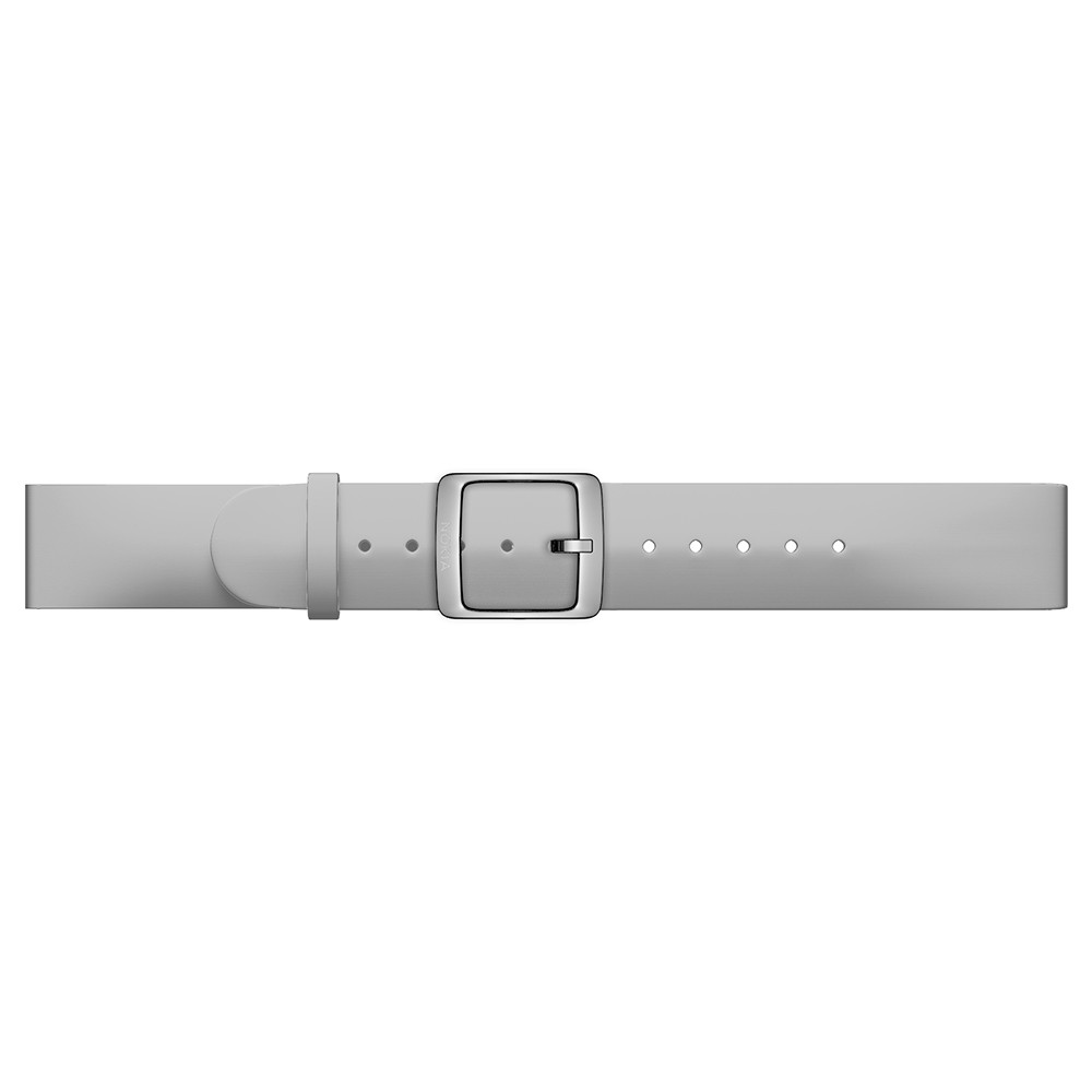 Nokia Nokia Accessory Silicone Band (18mm) - качествена силиконова каишка за Withings/Nokia Steel и Steel HR (36mm) (сив)