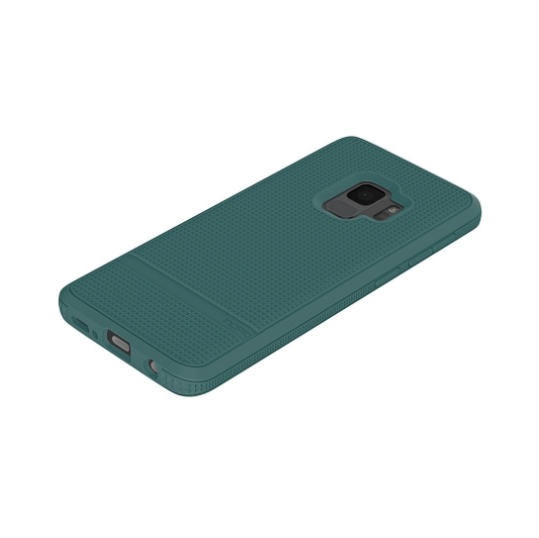 Incipio Incipio NGP Advanced Case - удароустойчив силиконов (TPU) калъф за Samsung Galaxy S9 (зелен)