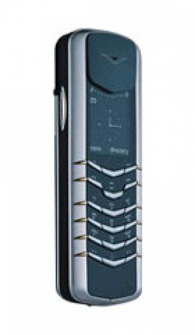 Nokia Vertu Stainless Steel with Yellow Tips