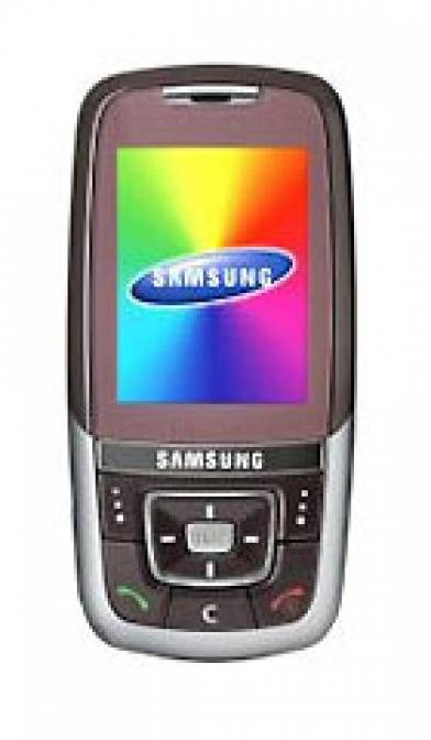 Samsung D600 Red