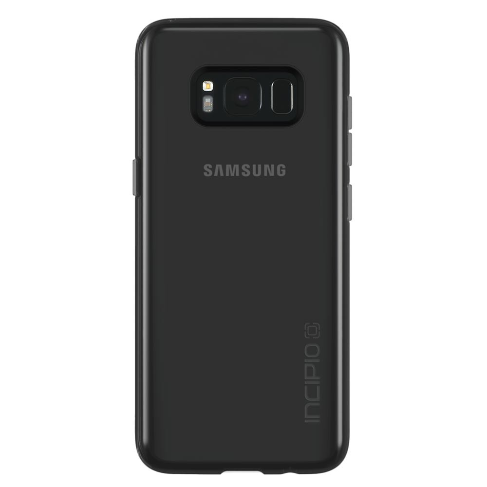 Incipio Incipio NGP Pure Case - удароустойчив силиконов (TPU) калъф за Samsung Galaxy S8 Plus (черен-прозрачен)
