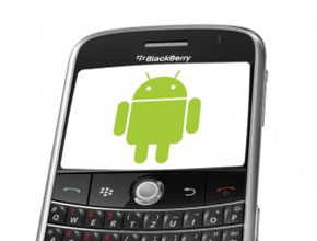 BlackBerry OS 7 използва код от Android?