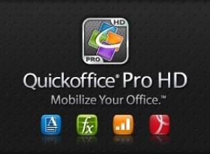 Ъпдейт на Quickoffice за Android Honeycomb