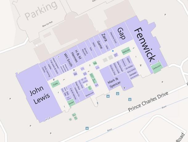 Bing Venue Maps Veche Osiguryava Karti Na Molove V Evropa Novini
