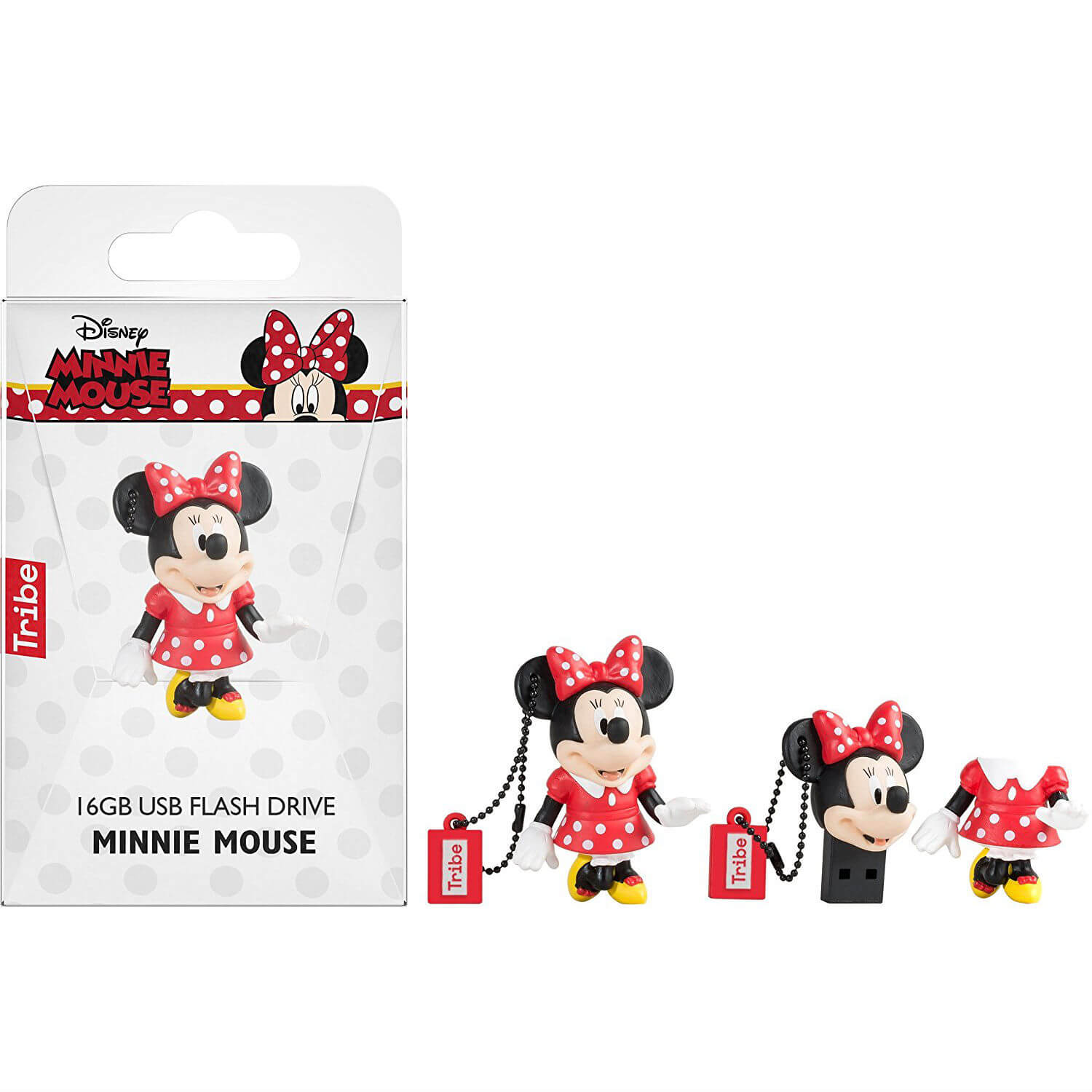 USB Tribe USB Tribe Disney Minnie Mouse USB Flash Drive 16GB - USB флаш памет 16GB
