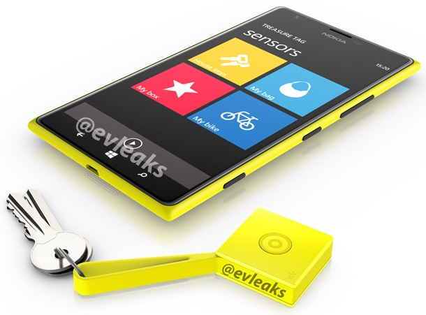 Снимка на Nokia Lumia 1520 и Nokia Treasure Tag
