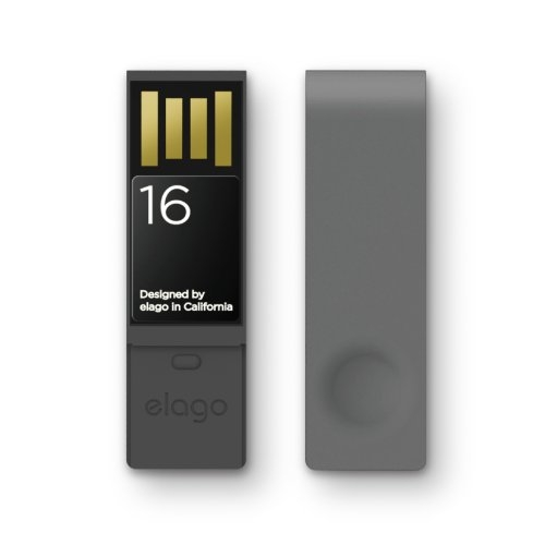 Elago Elago USB 2.0 Flash Drive 16GB - флаш памет 16GB за Elago iD1 USB ID Card Holder