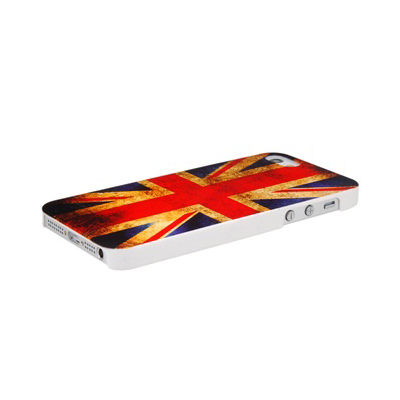 Други Retro Style Faceplate UK - поликарбонатов кейс за iPhone 5, iPhone 5S, iPhone SE