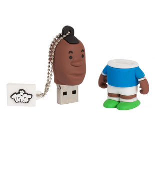 USB Tribe USB Tribe World Cup Italy 2 High Speed USB 2.0 Flash Drive 4GB - флаш памет 4GB
