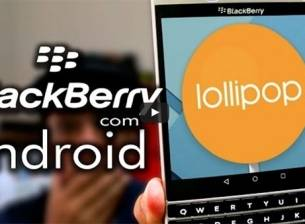 Видео на BlackBerry Passport с Android Lollipop