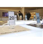 Samsung отчита рязък спад в продажбите на серията Galaxy S20